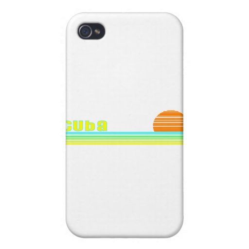 Cuba Covers For iPhone 4