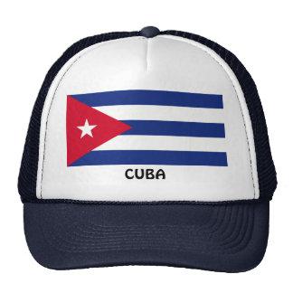 CUBA: Cuban Flag Trucker Hat