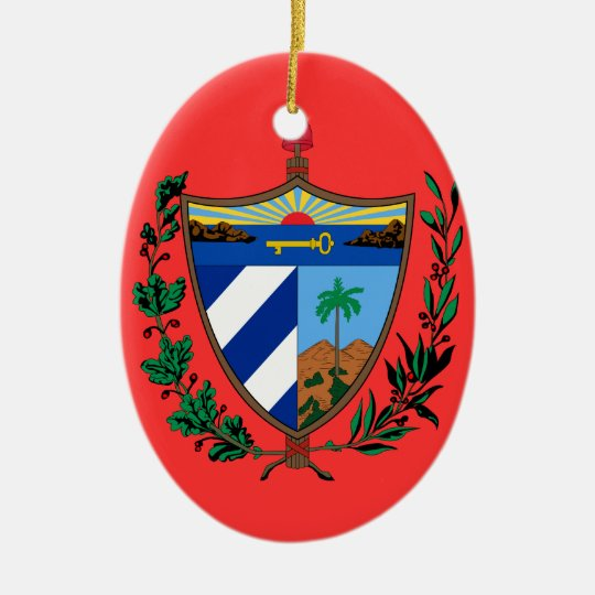 CUBA - Custom Christmas Ornament | Zazzle.com