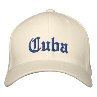 Cuba Custom Hat Baseball Cap