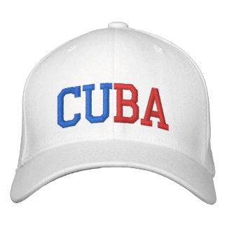 Cuba Embroidered Baseball Hat
