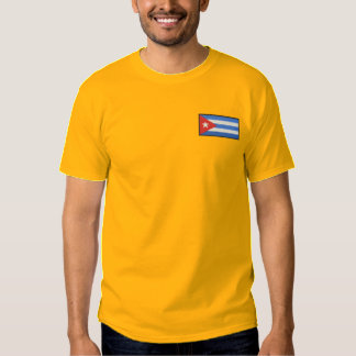 Cuba Embroidered T-Shirt
