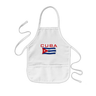 Cuba Flag 1 Kids' Apron