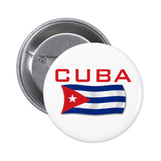Cuba Flag 1 Pinback Button