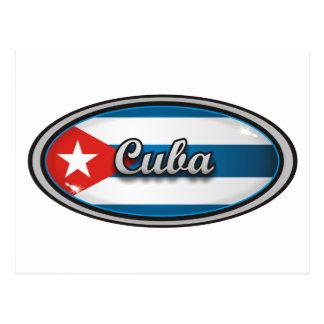 Cuba flag 1 postcard