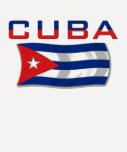 Cuba Flag 2 T Shirt