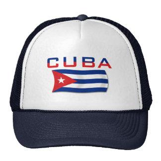 Cuba Flag 2 Trucker Hat