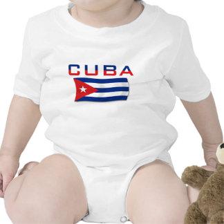 Cuba Flag 2 Rompers
