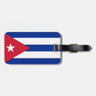 Cuba Flag Bag Tag