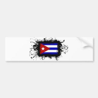 Cuba Flag Bumper Stickers