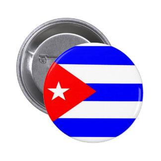 Cuba Flag Pinback Buttons