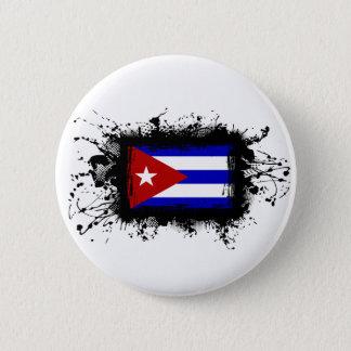 Cuba Flag Button