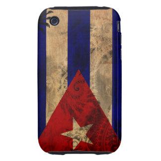Cuba Flag iPhone 3 Tough Cover