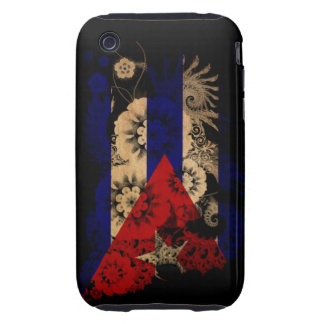Cuba Flag Tough iPhone 3 Cover