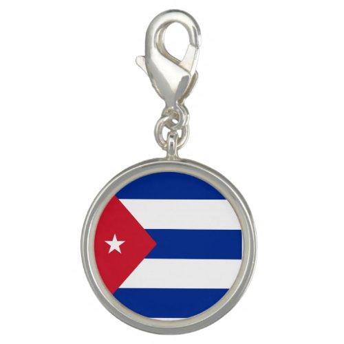 Cuba Flag Charm
