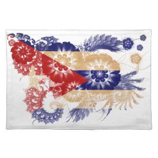 Cuba Flag Cloth Placemat