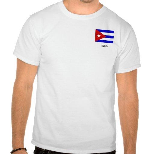Cuba_flag, Cubanita Tee Shirts