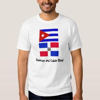 Cuba_flag, DominicanR_flag, Dominican y cubano… Camisas