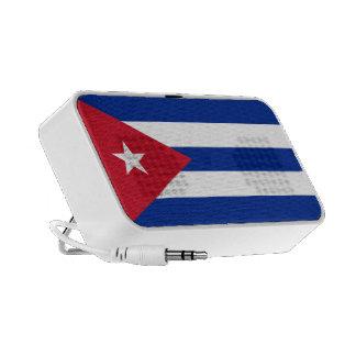 Cuba Flag Doodle Travelling Speakers