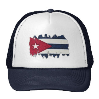 CUBA FLAG MESH HATS