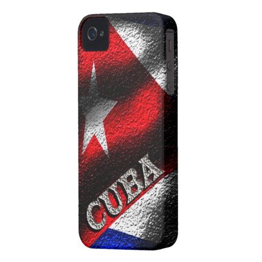 Cuba Flag Iphone 4/4S Case-Mate Case