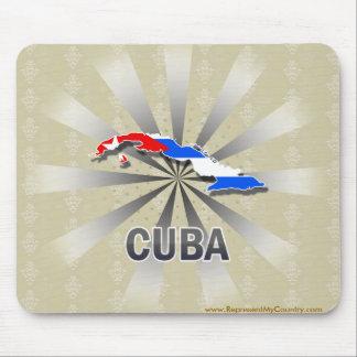 Cuba Flag Map 2.0 Mouse Pad