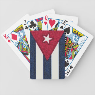 CUBA FLAG BICYCLE POKER CARDS