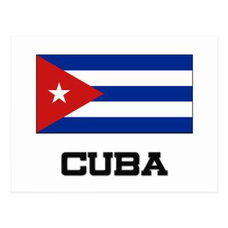 Cuba Flag Postcard