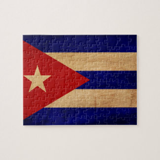 Cuba Flag Puzzle