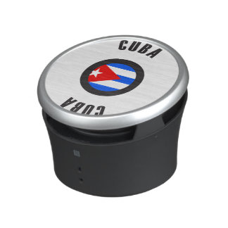 Cuba Flag Simple Speaker