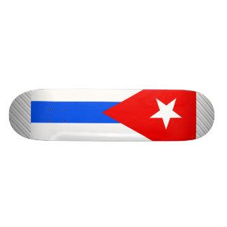 Cuba Flag Skate Board