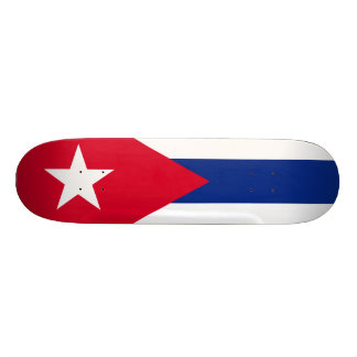 Cuba Flag Skateboard Deck
