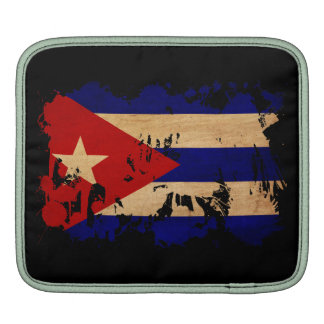 Cuba Flag Sleeves For iPads