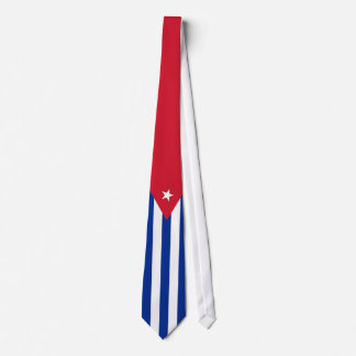 Cuba Flag Tie