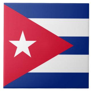 Cuba Flag Tile