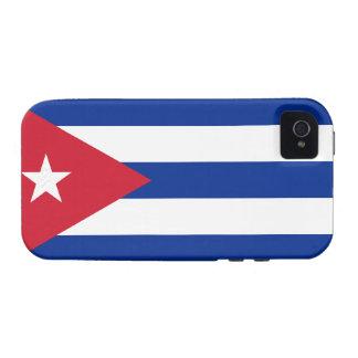 Cuba Flag Tough™ iPhone 4 Case