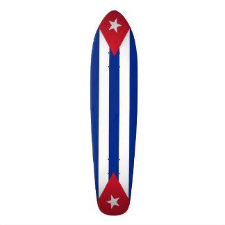 Cuba flags, twice skateboard