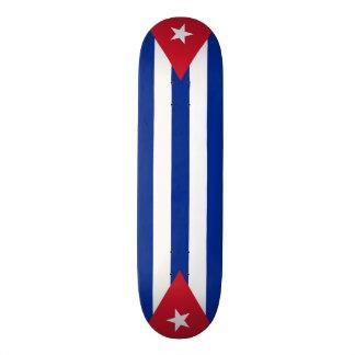Cuba flags, twice skateboard deck