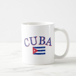 Cuba football design coffee mug
