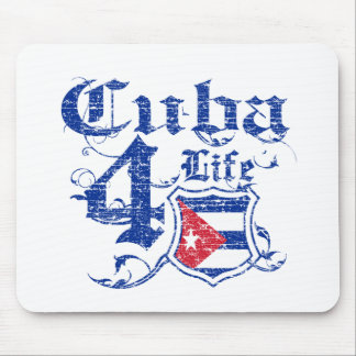 Cuba for life mouse pad