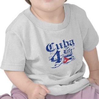 Cuba for life t-shirts