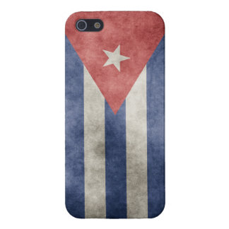 Cuba Grunge Flag Cover For iPhone SE/5/5s