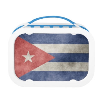 Cuba Grunge Flag Lunch Boxes
