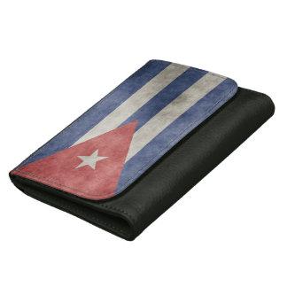 Cuba Grunge Flag Wallets