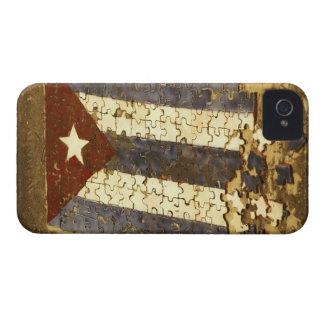 CUBA, Havana. Mosaic puzzle of the cuban flag in Case-Mate iPhone 4 Case