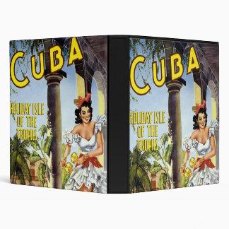 Cuba Holiday Isle Of The Tropics Binder