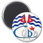 Cuba Imán Redondo 5 Cm