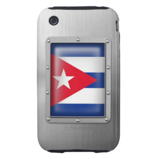 Cuba in Stainless Steel iPhone 3 Tough Cover