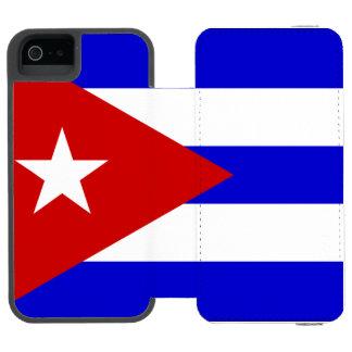 Cuba iPhone SE/5/5s Wallet Case