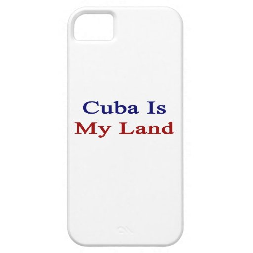 Cuba Is My Land iPhone 5 Cover